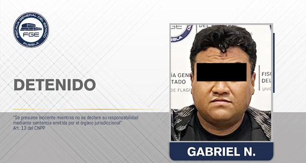 Detiene FGE a presunto distribuidor de droga en La Merced