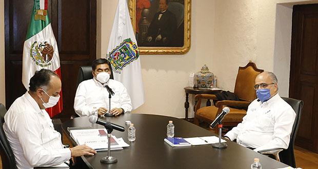 Puebla reanudaría actividades hasta principios de junio, prevé Barbosa