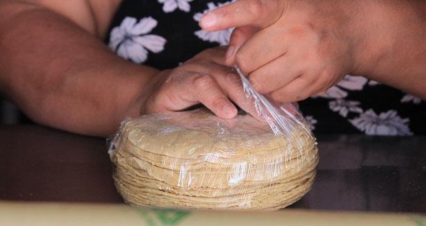 Tortillerías de Puebla mantienen precio por kilo más bajo del país