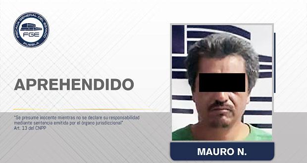 FGE detiene a sujeto por violar y asesinar a su sobrino en Tlaxco