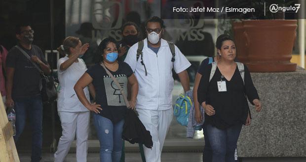 Reporta Secretaría de Salud federal 352 casos confirmados de Covid en Puebla