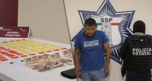 Captura SSP a presunto narcomenudista con 100 dosis de cocaína
