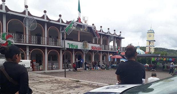 Cabildo anula toque de queda en Tulcingo del Valle, asegura Barbosa