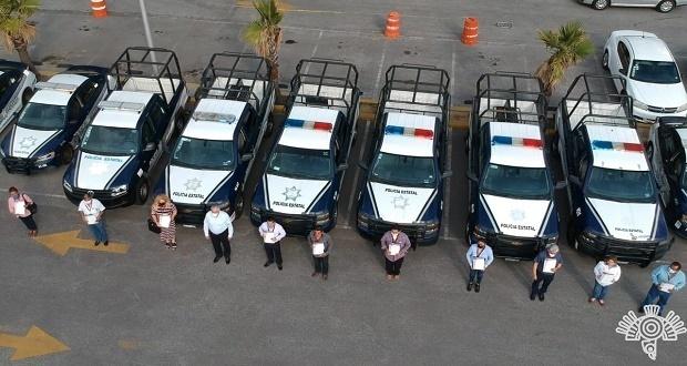 Gobierno estatal entrega 13 patrullas a municipios