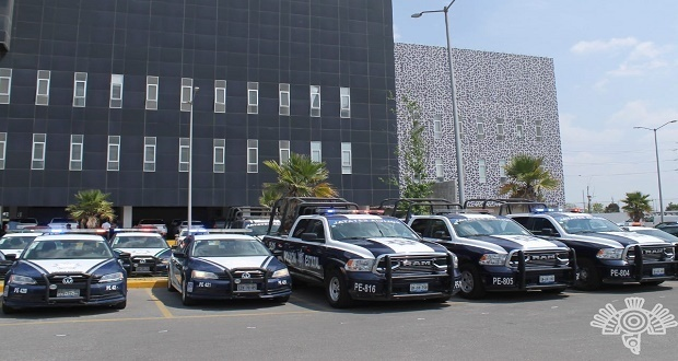 Gobierno estatal entrega patrullas a 15 municipios