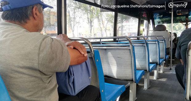 En Puebla capital, 92.5% se siente inseguro en el transporte público: CCSJ