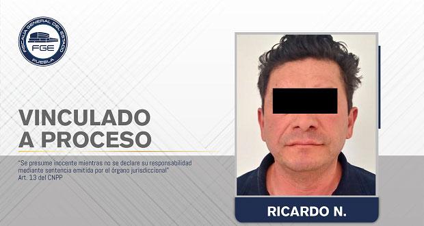 Vinculan a proceso sujeto por violar a su pareja en Zacatlán
