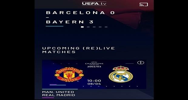 ¿Extrañas el fútbol? La UEFA repite partidos clásicos de Champions