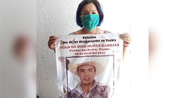 A 3 años de la desaparición de Juan, FGE sigue sin dar resultados: madre