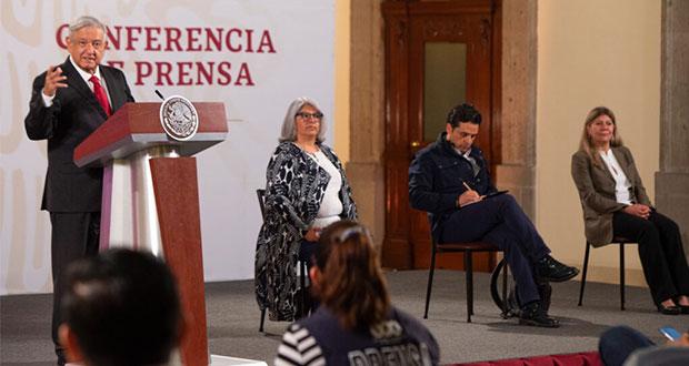 Ayudaremos a Puebla, no enviaremos pacientes Covid de otros estados: AMLO