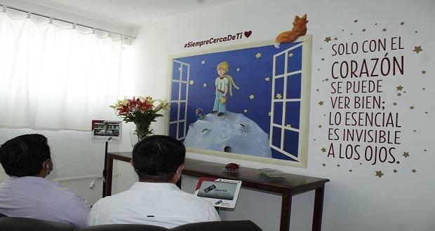 Con videollamadas, enfermos de Covid-19 y familiares podrán hablar