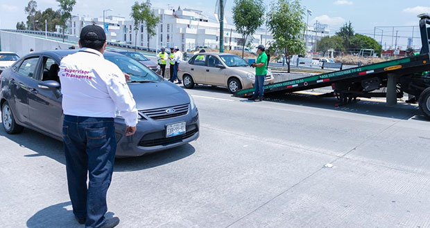 En primer día del Hoy no circula, 21 autos van al corralón por no respetar