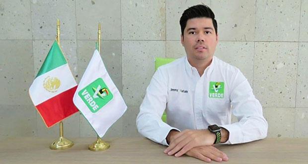 Partido Verde pide a poblanos cuidar bosques y evitar incendios