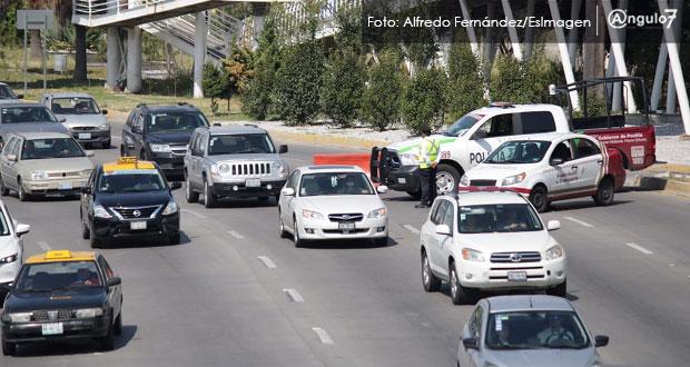 Analizan que patrullas escolten al corralón autos que incumplan Hoy No Circula