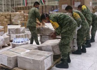 Llega a 25 Zona Militar equipo para atender a pacientes con Covid-19