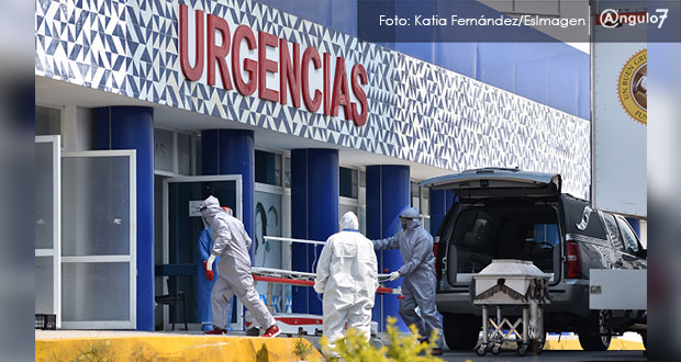 Puebla cierra la semana con mil 858 contagios de Covid-19 y 355 defunciones