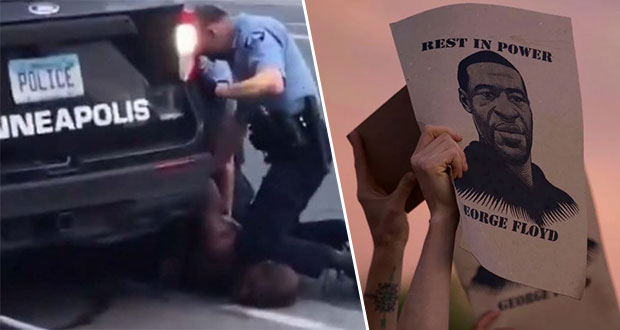 Tras 3 noches de ira, arrestan a policía por asesinato de George Floyd