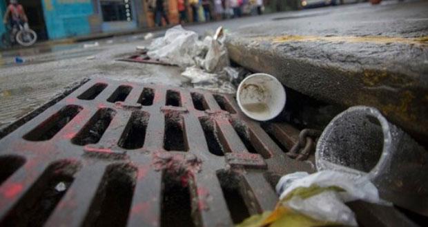 ¡Evita inundaciones! No arrojes basura a drenaje ni ríos: Conagua