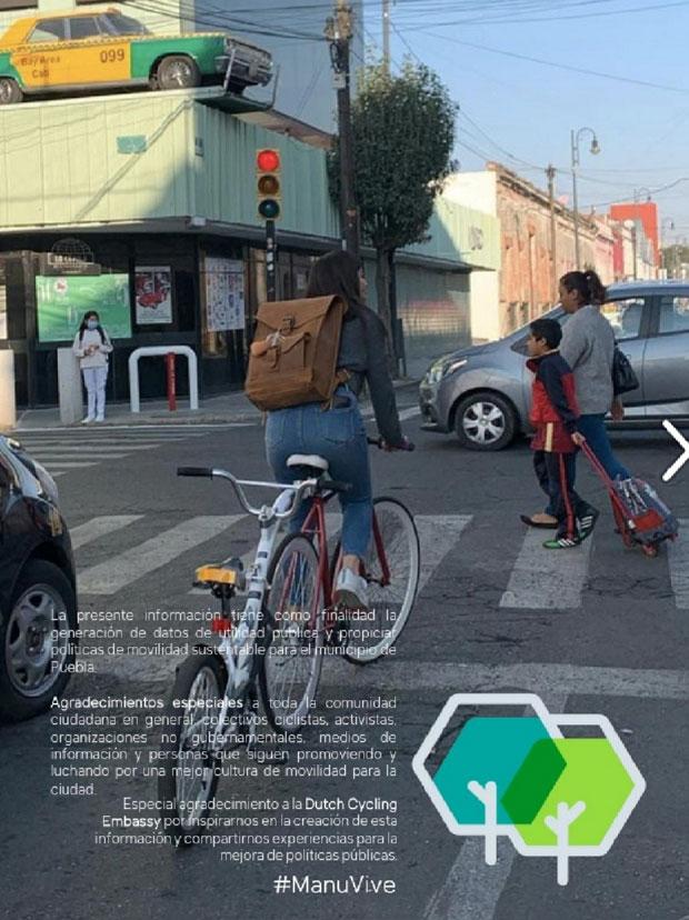 Piden poblanos ciclovías en 14 vialidades; bulevar 5 de Mayo, entre estas