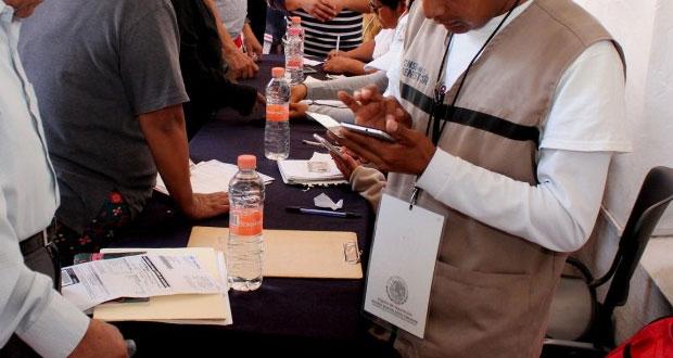"""Por censo """"a medias"""", poblanos quedan fuera de apoyos de Bienestar federal"""
