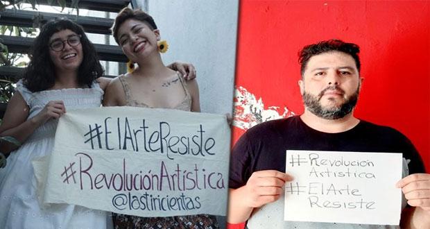 Covid no frente el arte, músicos y artistas alistan festival virtual
