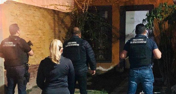 En Querétaro, detienen a hombre por agredir a su vecina enfermera