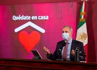 Van 7,633 muertos por Covid en país; cubrebocas será medida nacional