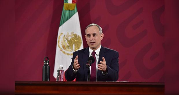 Barbosa tiene competencia para prolongar contingencia en Puebla: Gatell