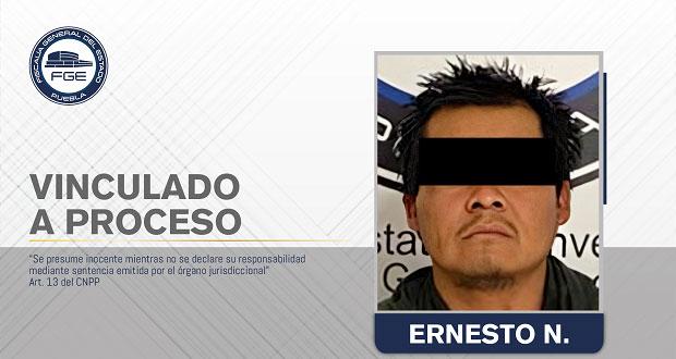 """Vinculan a proceso a """"El Callejas"""" por homicidio en Atlixco"""