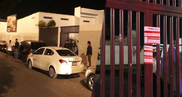 En plena pandemia, clausuran fiestas en colonia SNTE y Xonacatepec