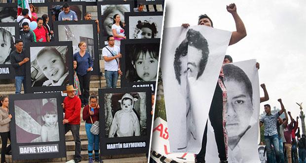 """AMLO asegura que no habrá """"carpetazo"""" de Guardería ABC y Ayotzinapa"""