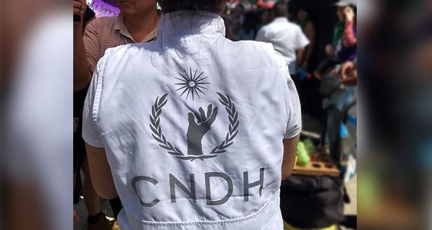 No ceder ante violencia contra mujeres, pide CNDH a gobiernos