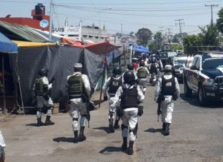 Con operativo, van contra venta ilícita de alcohol en el Morelos