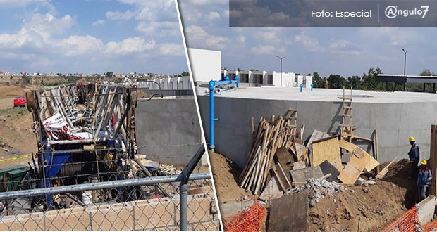"""Pese a """"clausura"""" de Comuna, sigue construcción de pozo en Almecatla: vecinos"""