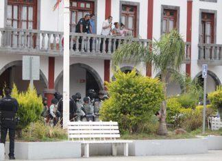 Segob impulsa diálogo de Comuna y vecinos de Coronango tras disturbio