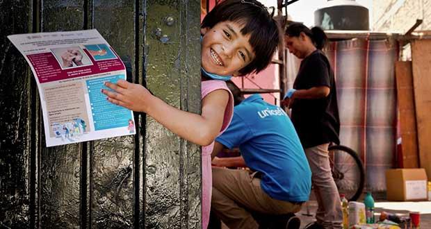 Apoyarán a menores con canastas y tarjetas alimentarias ante Covid