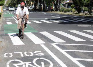 Piden que ciclovías emergentes en la ciudad de Puebla se queden