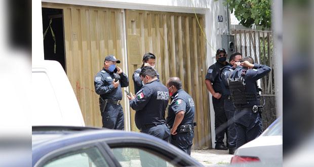 Asesinan a hombre y dejan herido a otro en casa de la colonia La Paz