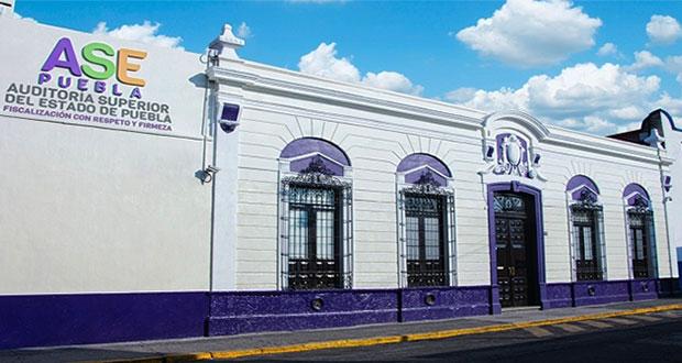 ASE de Puebla realiza 12 revisiones a autoridades por gastos para Covid-19