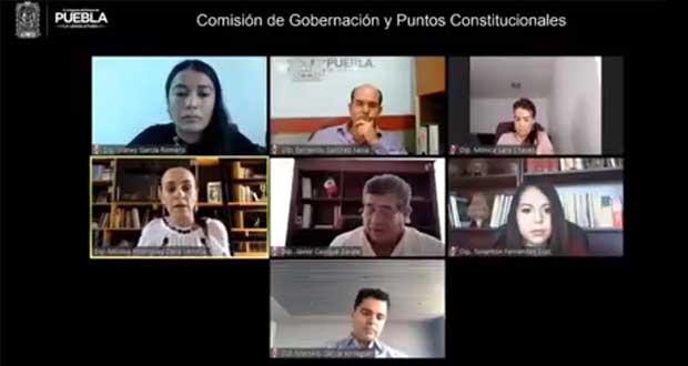 Avalan en Comisión del Congreso de Puebla quitar fuero a gobernador