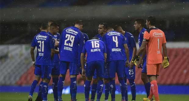 Cruz Azul confirma que 3 de sus jugadores dieron positivo a Covid