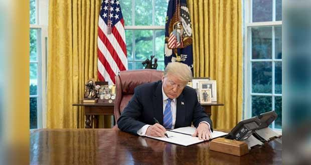 Casa Blanca difunde decreto que promulga en ley de EU para T-MEC
