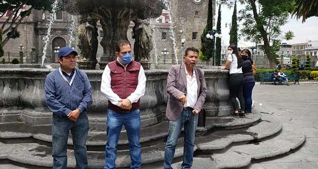 Detención de líder de Amozoc Seguro es represión; exigen liberarlo