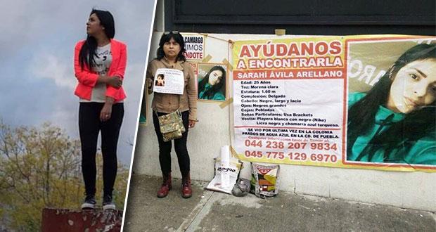 Exigen justicia para Saraí Ávila a casi 3 años de que desapareciera en Puebla
