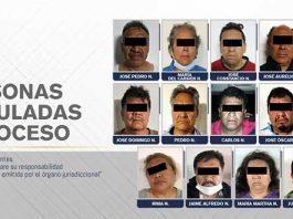 FGE obtiene vinculación a proceso de 14 activistas de Amozoc