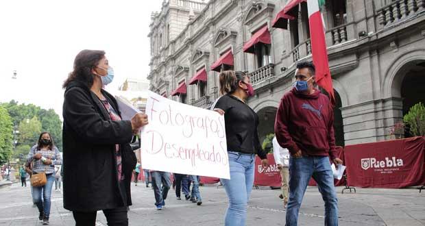 Fotógrafos piden a la Comuna ser incluidos en programas de empleo