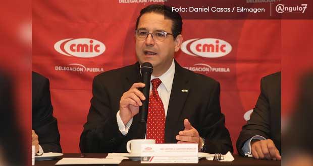 CMIC anuncia que Barbosa licitará primeras obras por 500 mdp
