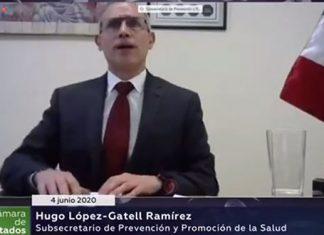 """López-Gatell prevé ahora 35 mil muertos; fin de Covid, """"en octubre"""""""