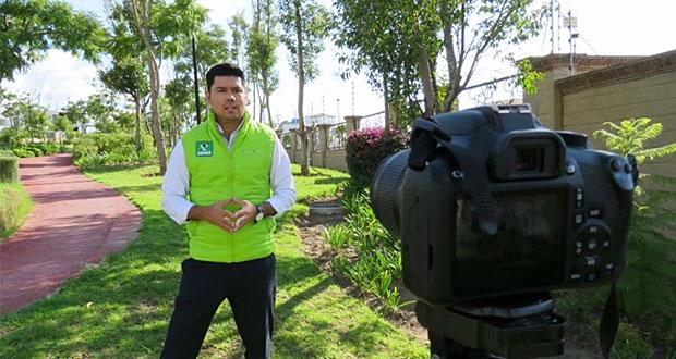 Partido Verde respalda ampliación de decretos por Covid-19 en Puebla