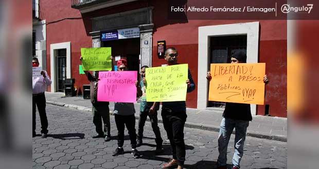 12 detenidos de Amozoc Seguro no estuvieron en el lugar de los hechos, acusan